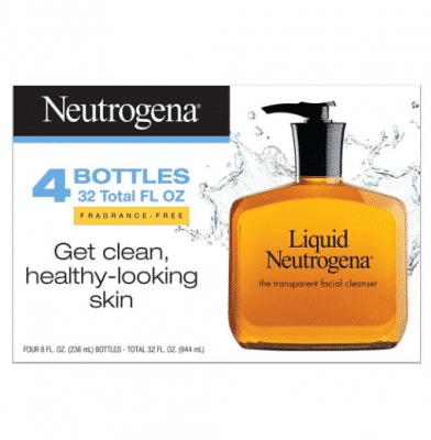 neutrogena face wash at bjs