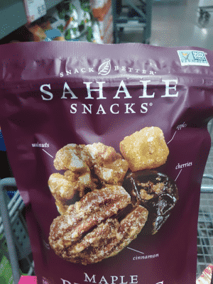 sahale snacks maple pecans