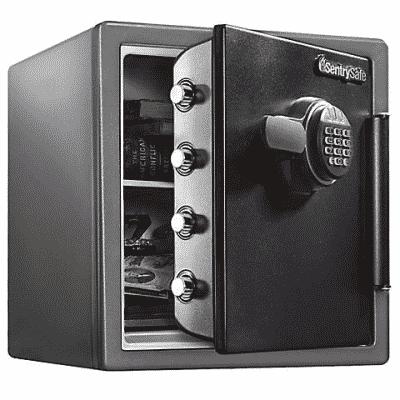 sentrysafe fireproof and waterproof safe