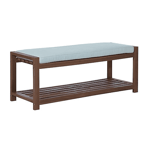 W. Trends Outdoor Acacia Wood Bench $149.99