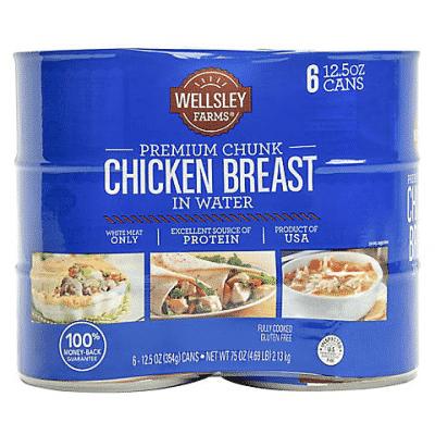 Wellsley Farms Canned Chicken Breast