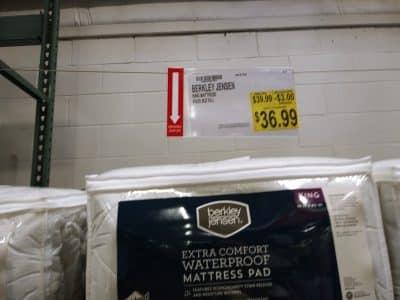 King Mattress Waterproof pad