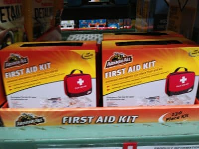 armor all first aid 130pc car kit