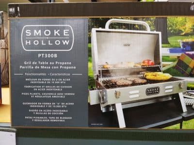Smoke Hollow PT300B Tabletop Grill
