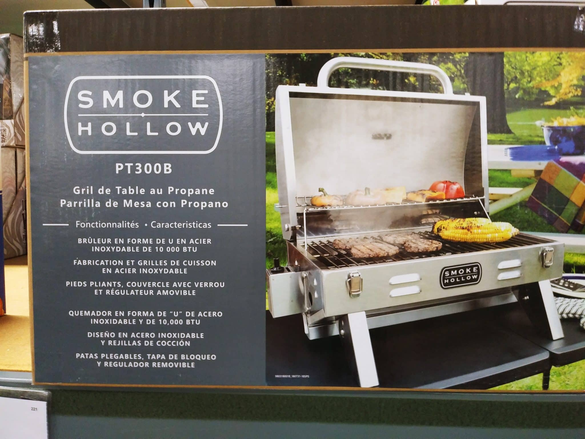 Smoke Hollow PT300B Tabletop Grill $79.99
