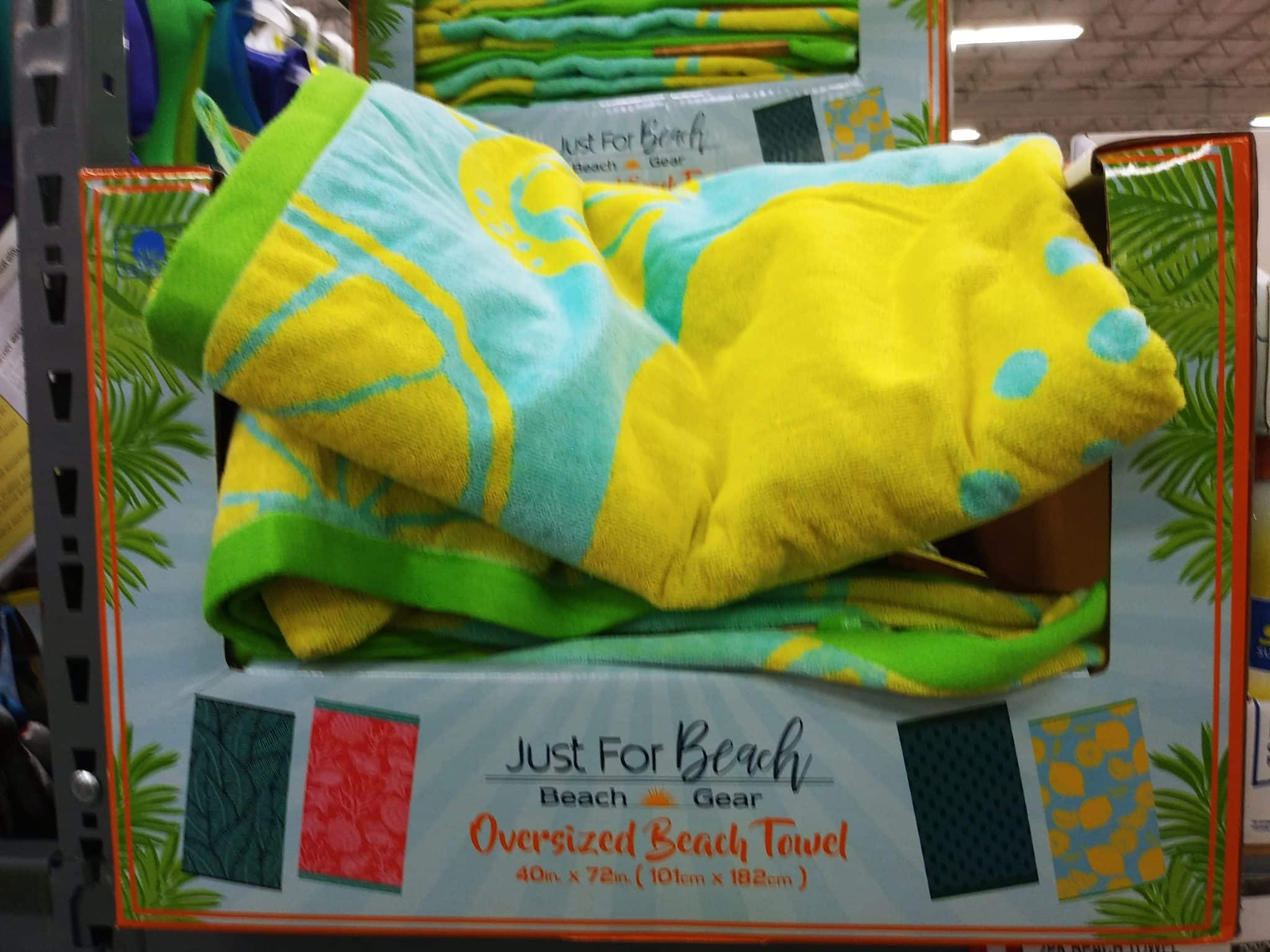 Assorted Beach Towels Under $10 at BJs