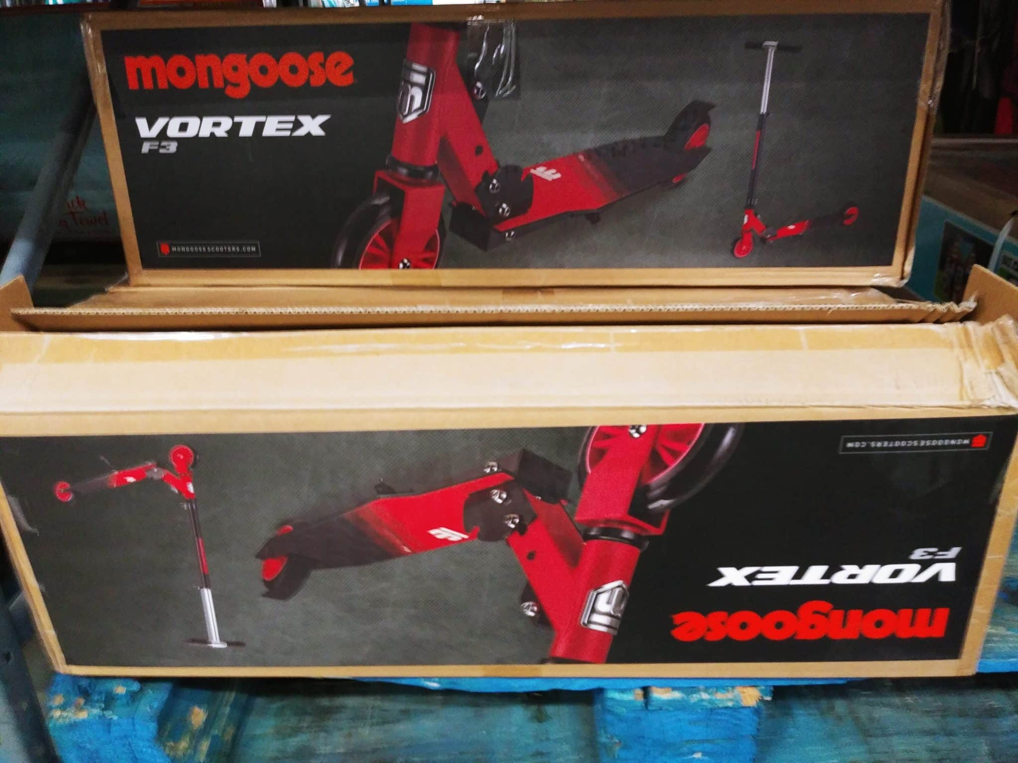 Mongoose Vortex Folding Scooter $26.98
