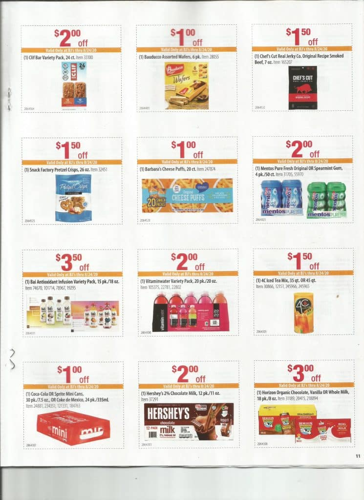 bjs store flyer coupons