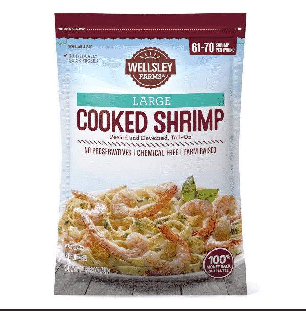 wellsley farms cooked shrimp