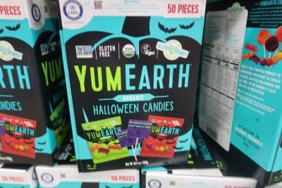 yum earth organic halloween candies