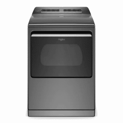 whirlpool electric top load dryer