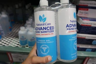 natural care hand sanitizer at bjs