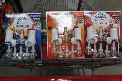 glade fall scents at bjs