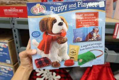 elf on shelf puppy and play