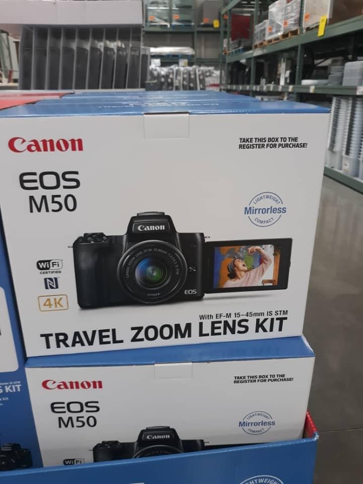 Canon EOS M50 Mirrorless Camera $649.99