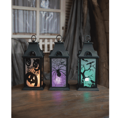 berkley jensen illuminated halloween lanterns