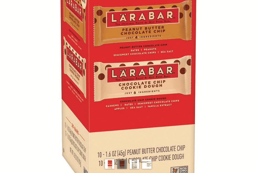 $12.99 for 20 pk. Variety of Larabar at BJs!