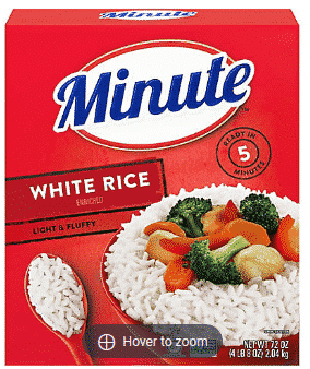 Minute Rice Instant Enriched Long Grain Rice