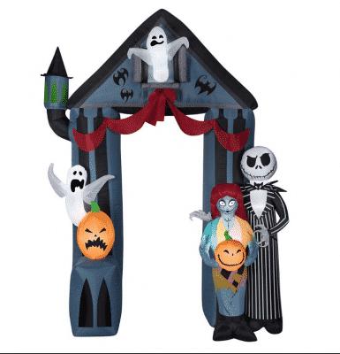 nightmare before christmas halloween theme