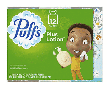 Puffs Lotion Tissue ONLY $0.66 per box!