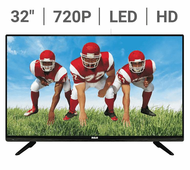 RCA 32″ 720P LED TV $97.99 Shipped