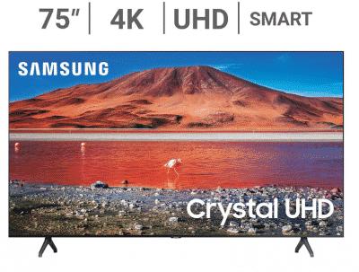 "samsung 75"" TU700d 4K UHD TV"