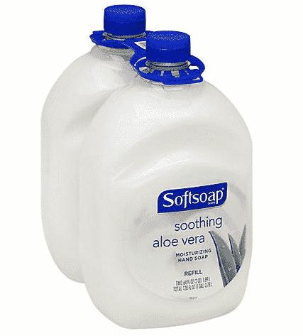 Softsoap Liquid Hand Soap Soothing Aloe Vera 2pk $6.49