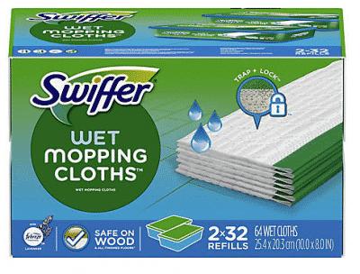 Swiffer Lavender and Vanilla Wet Cloths