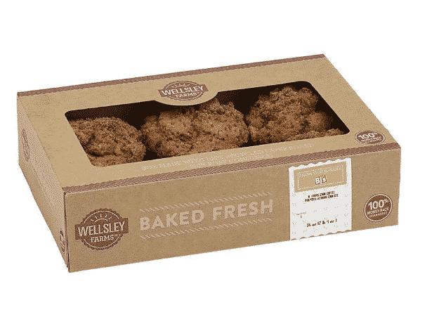 Wellsley Farms Coffee Cake Cinnamon Muffins, 6ct $3.49