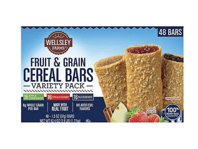 Wellsley Farms Fruit and Grain Cereal Bars