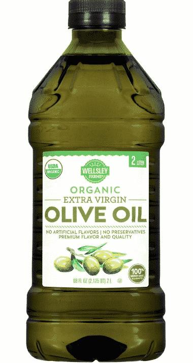 Wellsley Farms Organic Extra Virgin Olive Oil 2L $13.49