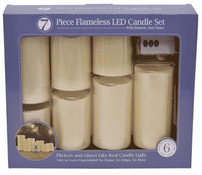 7pc LED Candle Set