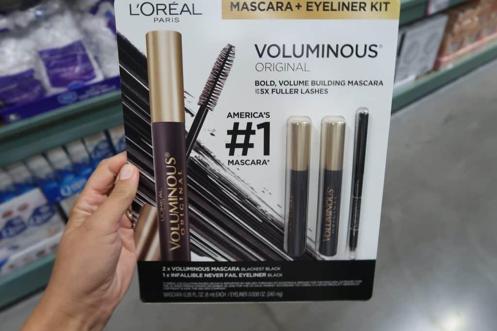 loreal mascara and eyeliner