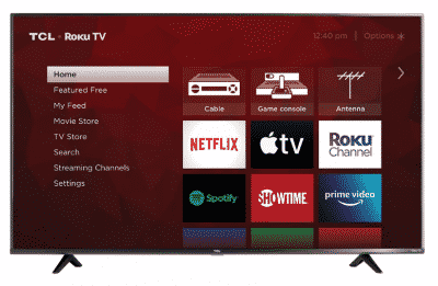 "TCL 65"" 4 Series LED Smart TV"