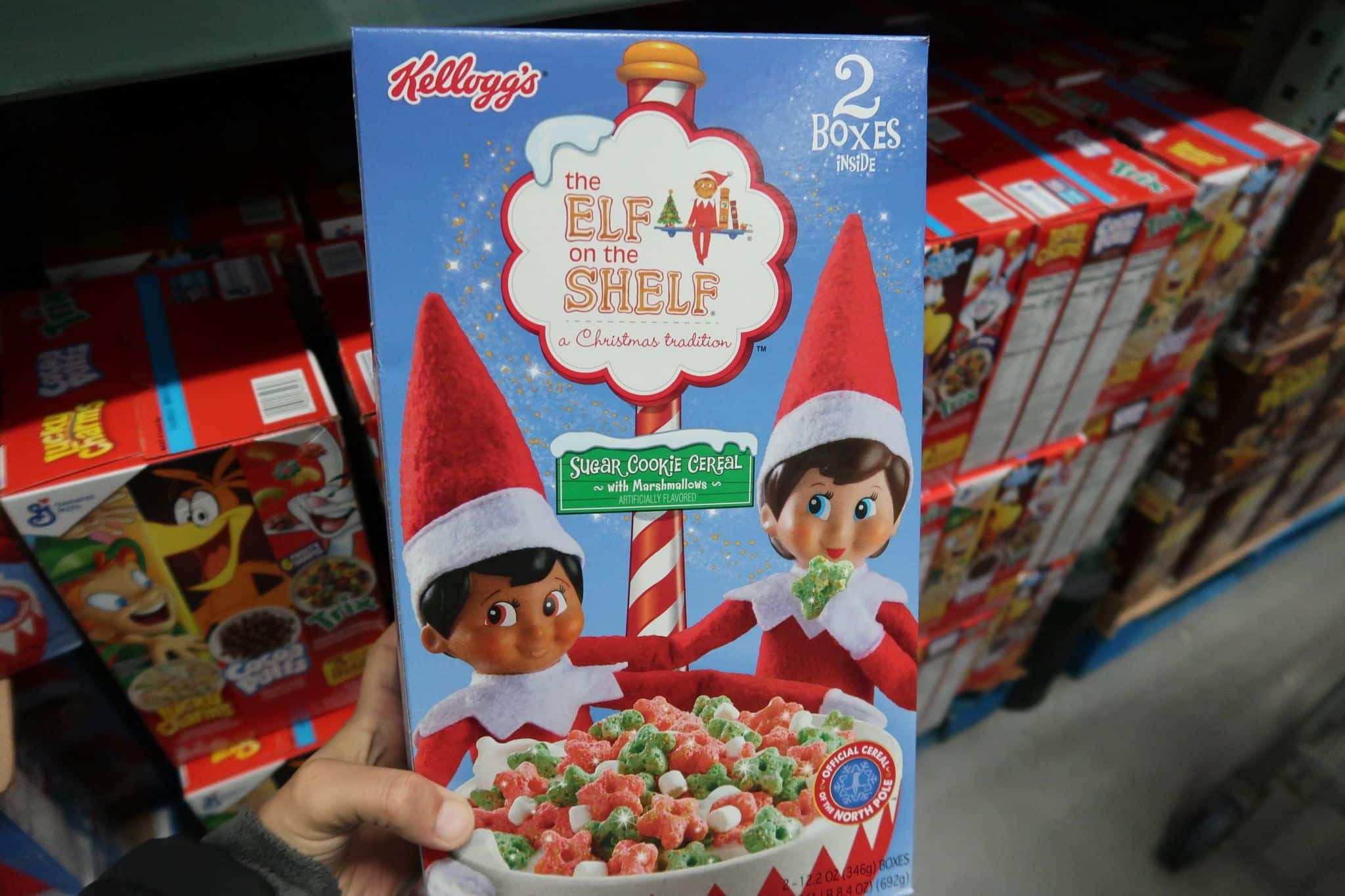 The Elf on the Shelf Cereal $4.49 for 2 boxes!