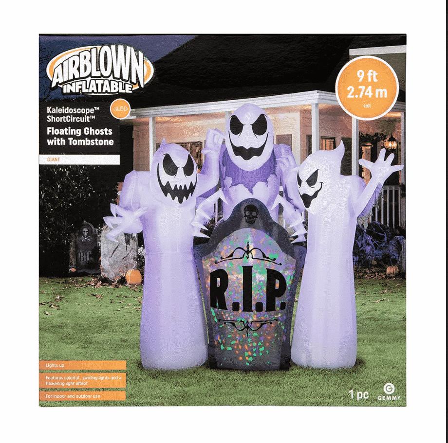 Gemmy Airblown Ghost Decoration $89.99