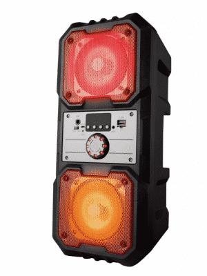 iJoy Banger LED Color Changing Bluetooth Speaker