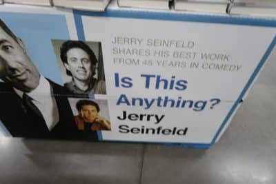 Jerry Seinfeld's Is This Anything Book