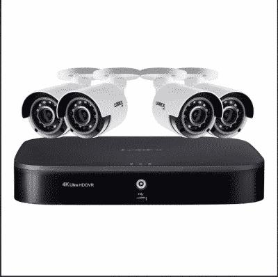 Lorex 8-Channel 4-Camera 4K Security System