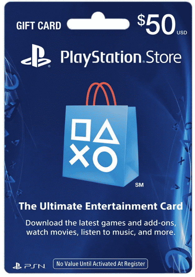 Playstation Store Gift Card $50 for $39.99!!