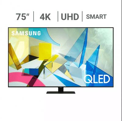 "Samsung QLED Q8DT 75"" TV"
