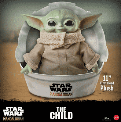 Star Wars Baby Yoda Plush