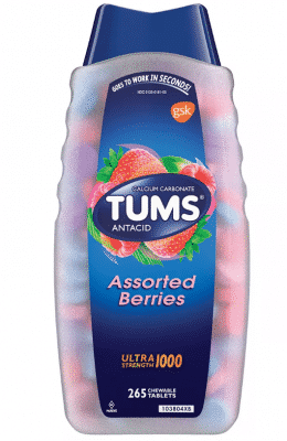 Tums Assorted Berries Antacid Tablets 265ct