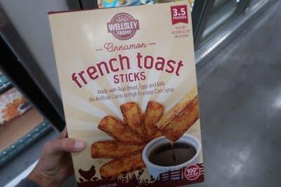 wellsley farms french toast sticks at bjs