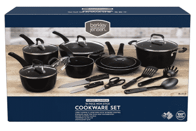 Berkley Jensen 18pc Cookware Set