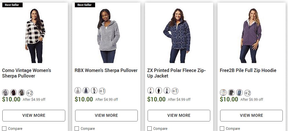 $10 Cozy Women's Sweaters & Sweatshirts! Online too