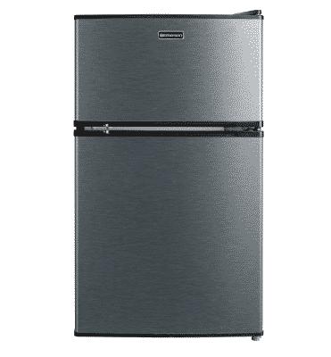 Emerson 2 door mini fridge