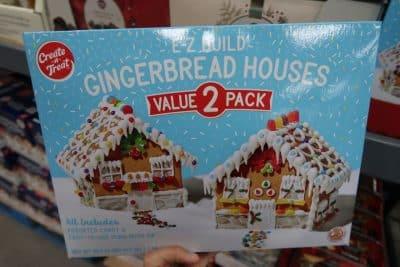 gingerbread houses 2pk