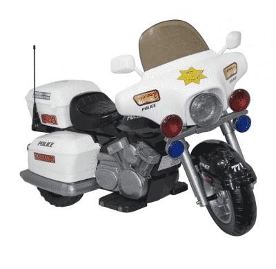 Kid Motorz Ride On Police Car