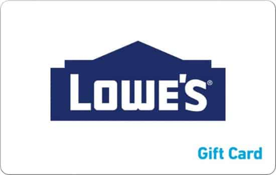 Lowe's $100 Egift card ONLY $85.00